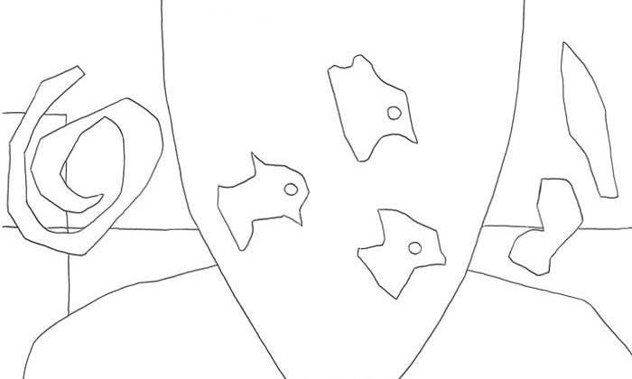 【塗り絵】金魚/アンリ・マティス
